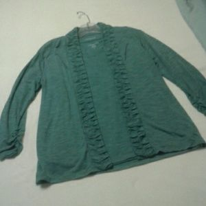 Coldwater Creek Cardigan Set Small 8 *2 Pieces
